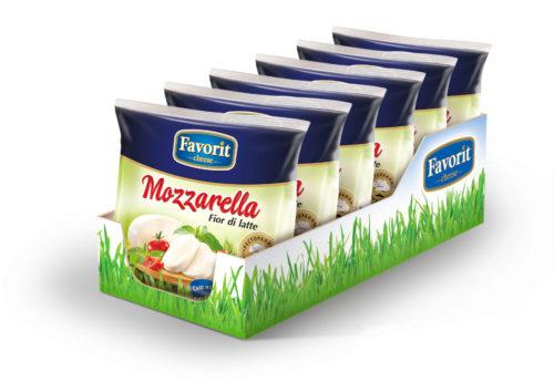 "Сыр мягкий свежий ""Favorit Cheese"" Моцарелла"