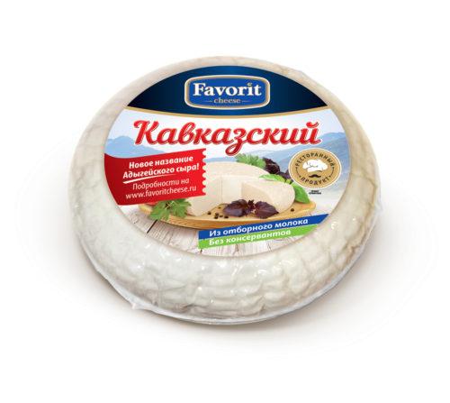 "Сыр мягкий Кавказский ""Favorit Cheese"""